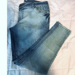 Mossimo Slim Ankle Skinny Jeans Size 15